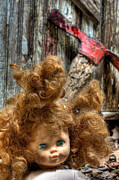 Redheads Metal Prints - Bad Hair Day Metal Print by JC Findley