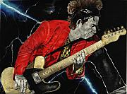 Keith Richards Drawings - Bad Has No Color by Kelvin Winters
