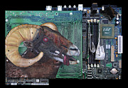 Technology Paintings - Bad Ram by Joe Dragt