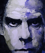 Portrait Paintings - Bad Seed by Paul Lovering