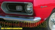 Mopar Metal Prints - Bad To The Bone Metal Print by Richard Rizzo