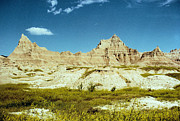 Badlands Photos - Badlands In Yellow by Jan Amiss Photography
