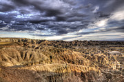 Badlands National Park Posters - Badlands Of South Dakota Poster by Bob Christopher
