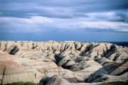 Badlands National Park Posters - Badlands Rain Poster by Chris  Brewington Photography LLC