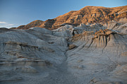 Hoodoos Prints - Badlands Sunset Print by David Kleinsasser