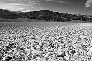 Panamint Valley Photos - Badwater and the Panamints by Troy Montemayor