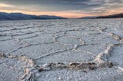Salt Flats Digital Art - Badwater by Gerry Mann