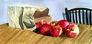 Anne Trotter Hodge - Bag With Apples