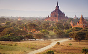 Bagan Photos - Bagan - Htilominlo Temple by Barnaby Robson