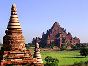 Bagan Photos - Bagan temple by Marcus Best
