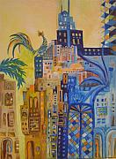 Baghdad Paintings - Baghdad In Dreems 2 by Yahya Batat