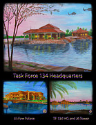 Baghdad Painting Framed Prints - Baghdad Memories Framed Print by Michael Matthews