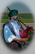 Bagpiper Framed Prints - Bagpiper Framed Print by Joe Granita