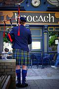 Irish Art - Bagpipes by Linda Mishler