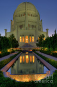 Architectural Details Prints - Bahai Temple Print by Sandra Bronstein