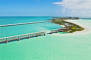 Ark Photo Prints - Bahia Honda Print by Patrick M Lynch