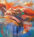 Nude Paintings - Bahia by Rick Nederlof