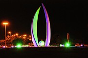 Pleasure Photo Originals - Bahrain lights by Marcus Davis