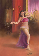 Margaret Merry Art - Bailarina de la Danza del Viente by Margaret Merry