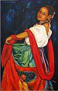 Image Painting Originals - Baile Conmigo by Pat Haley