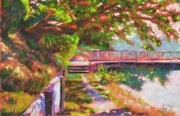 Pathway Pastels - Bainbridge Madrona by Mary McInnis
