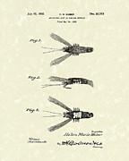 Bait 1932 Patent Art Print by Prior Art Design