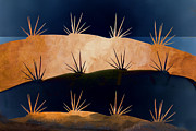 Golden Brown Prints - Baja Landscape Number 1 Print by Carol Leigh