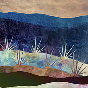 Indigo Framed Prints - Baja Landscape Number 2 Framed Print by Carol Leigh