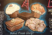 Blackboard Photos - Baked Fresh Daily by Sophie Vigneault
