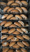 Loaf Of Bread Photo Prints - Baking Bread Print by Ria Novosti
