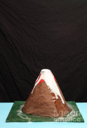 Paper Mache Art - Baking Soda Volcano 4 Of 4 by Ted Kinsman