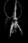 Hoop Posters - Balance of Power 14 Poster by Monte Arnold