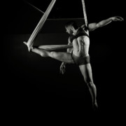 Gymnast Photos - Balance of Power 17 by Monte Arnold