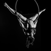 Gymnast Photos - Balance of Power 9 by Monte Arnold
