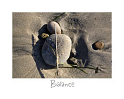California Beach Prints - Balance Print by Peter Tellone