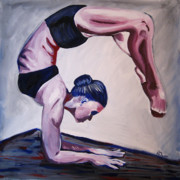 Dance Paintings - Balance by Rachelle Dyer