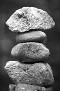 Stack Rock Posters - Balanced Rocks, Close-up Poster by Snap Decision
