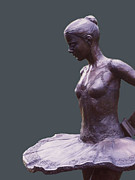Ballet Sculpture Originals - Balanchines-Dancer-Elise-Boyce-Kelsey by Sterett-Gittings Kelsey
