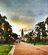 John Toma - Balboa Park at Sunset