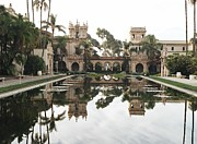 Pond In Park Framed Prints - Balboa Park Framed Print by Dean Robinson