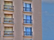 Shinny Prints - Balconies Print by Jimmy Ostgard