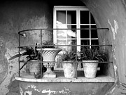Monochrome Acrylic Prints - Balcony by Roberto Alamino