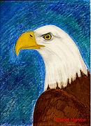 Janet Marston - Bald Eagle Painting