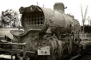 Train Car Photos - Baldwin Locomotive by Scott Hovind