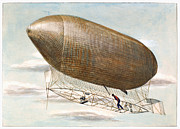 Purchase Posters - Baldwins Airship, 1904 Poster by Granger