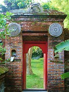 Bali Gate Print by Michelle Matisse