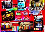 Abstract Fashion Designer Art Posters - Bali Paul Smith fake Minis Poster by Funkpix Photo Hunter
