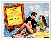 Films By Howard Hawks Posters - Ball Of Fire, Gary Cooper, Barbara Poster by Everett