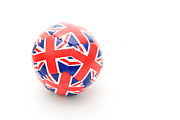 Union Jack Photos - Ball by Tom Gowanlock