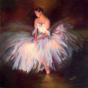 Ballet Art Prints - Ballerina Ballet Dancer Archival Print Print by Patti Trostle